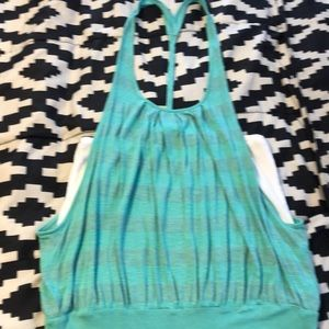 Tank Top with cami built in! Size L